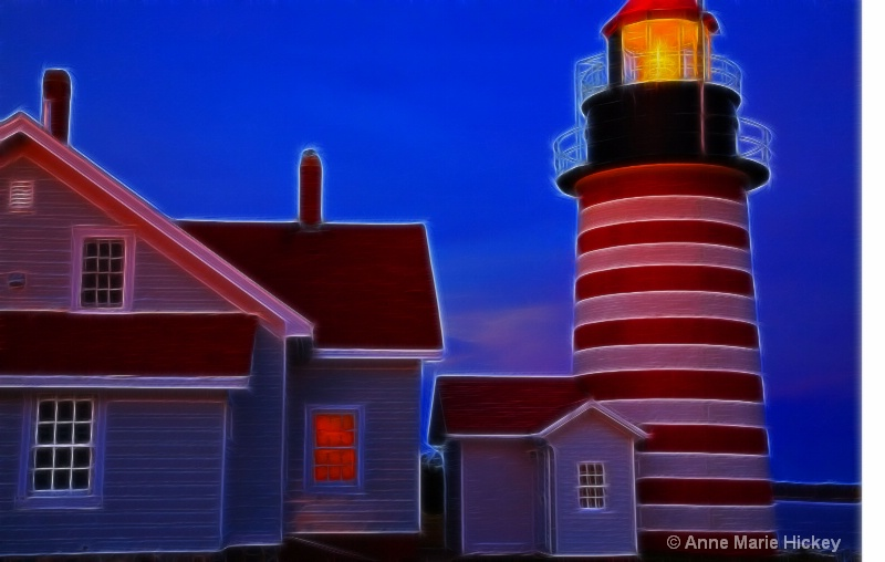 Lighthouse Aglow