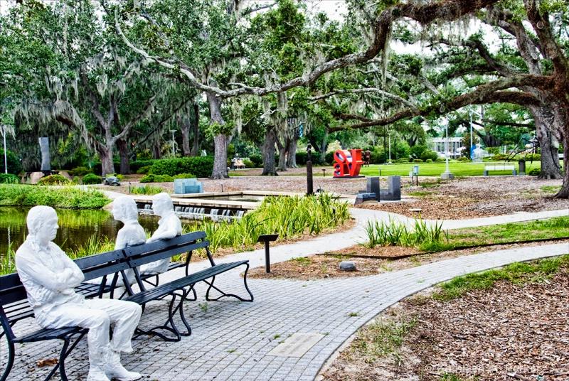 Landscape Sculpture Garden A