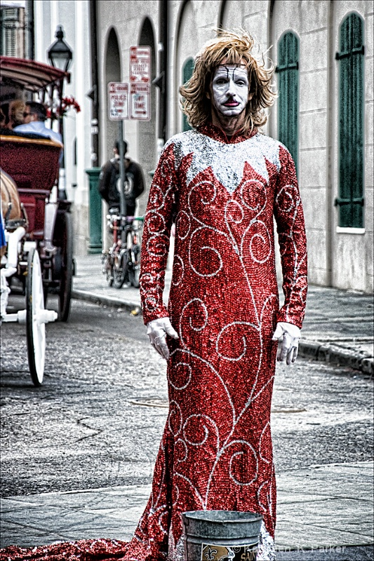 Haute Couture in Jackson Square