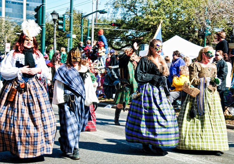 The Ladies of the Bagpipers