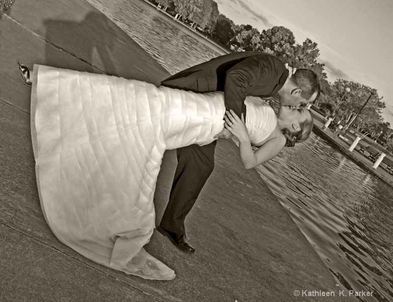 Wedding Day in the Park
