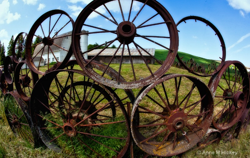 The Wheel Fence