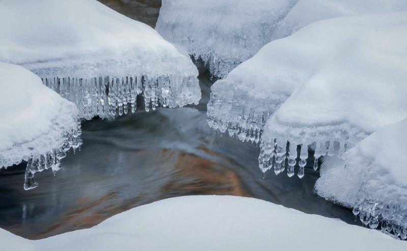 1.ice crystals