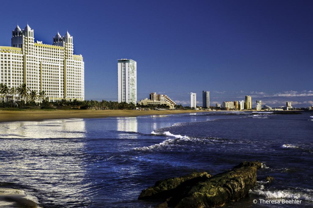 Down the Beach - Mazatlan