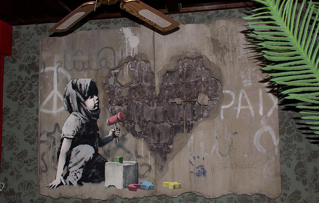 Banksy Dream Bethlehem