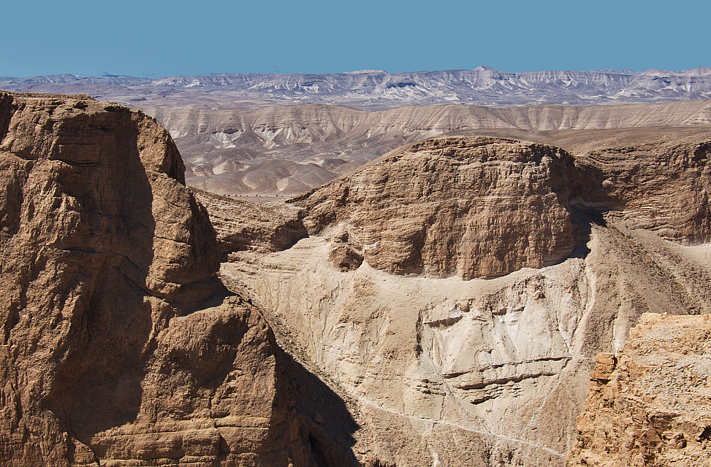 Desert from Masada