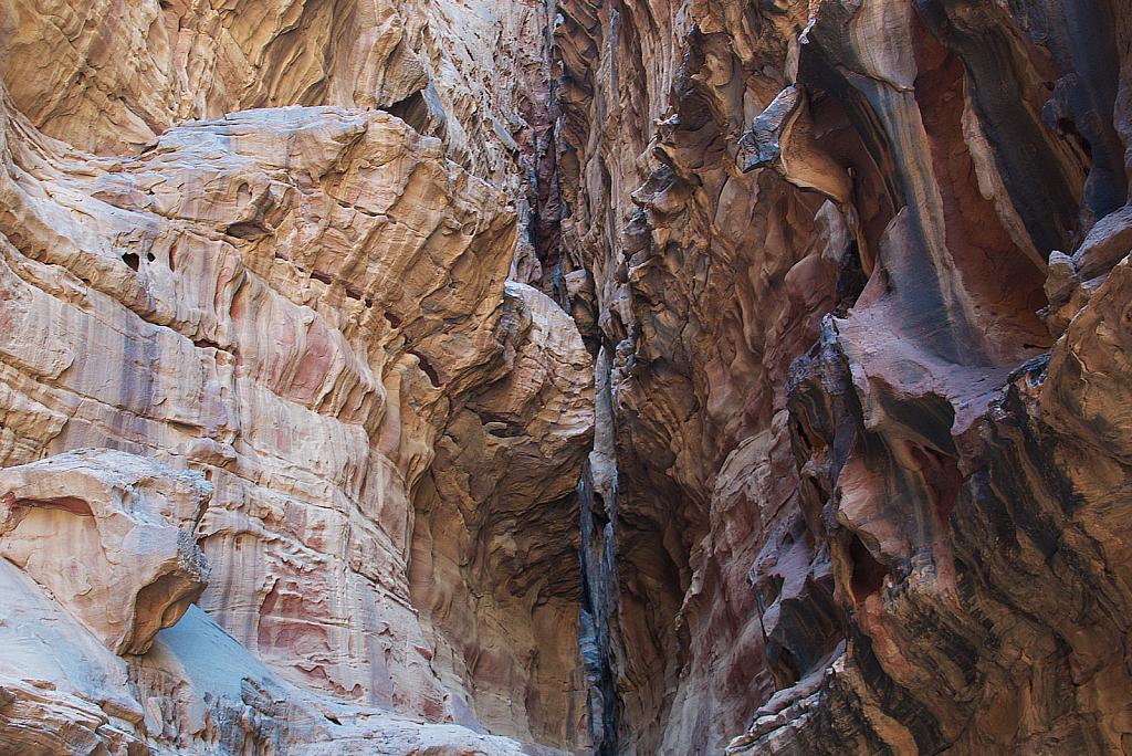 Narrow Gorge at Petra