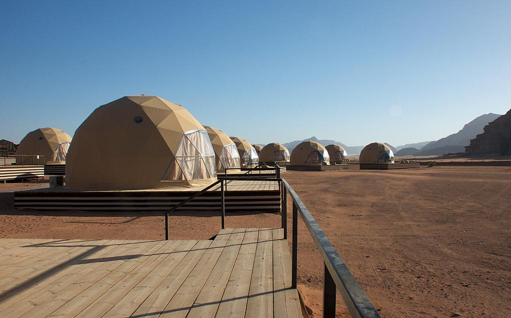 Lodgings at Wadi Rum