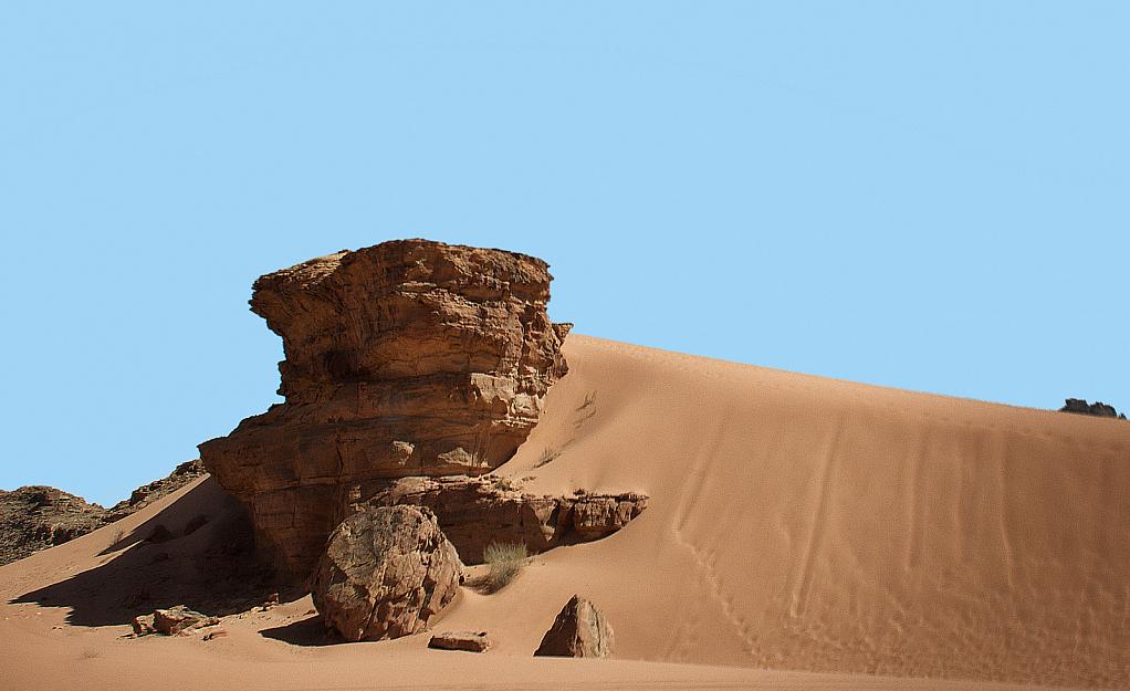 Dunes at Wadi Rum