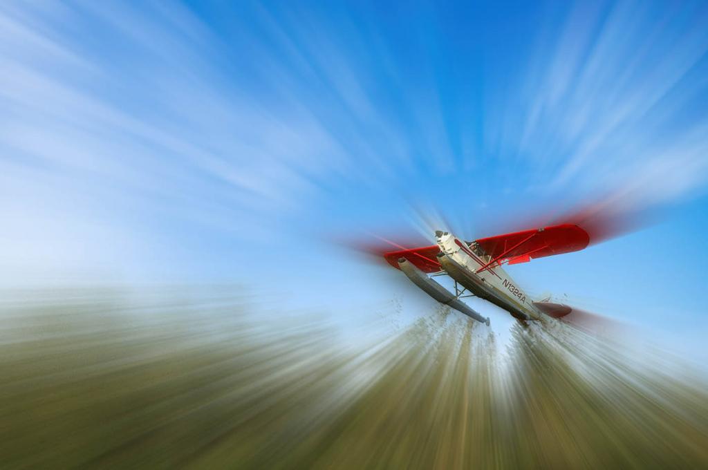 Bush Pilot Takeoff