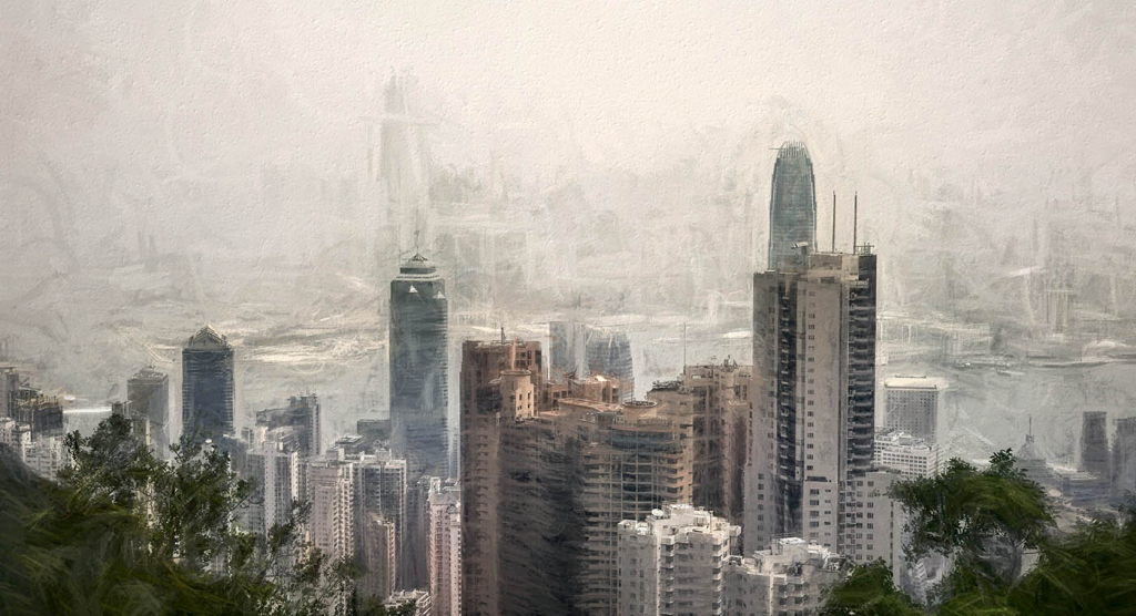 A Foggy Day In Hong Kong