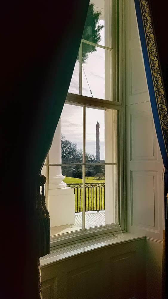 Washington Monument From the White House