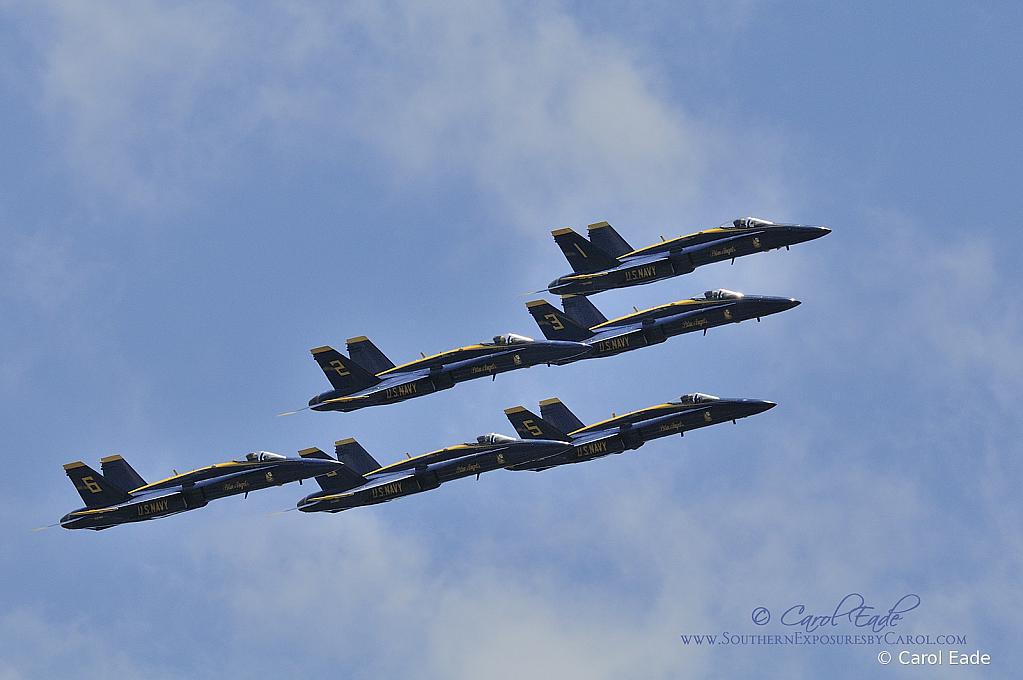 Blue Angels Tribute Flight