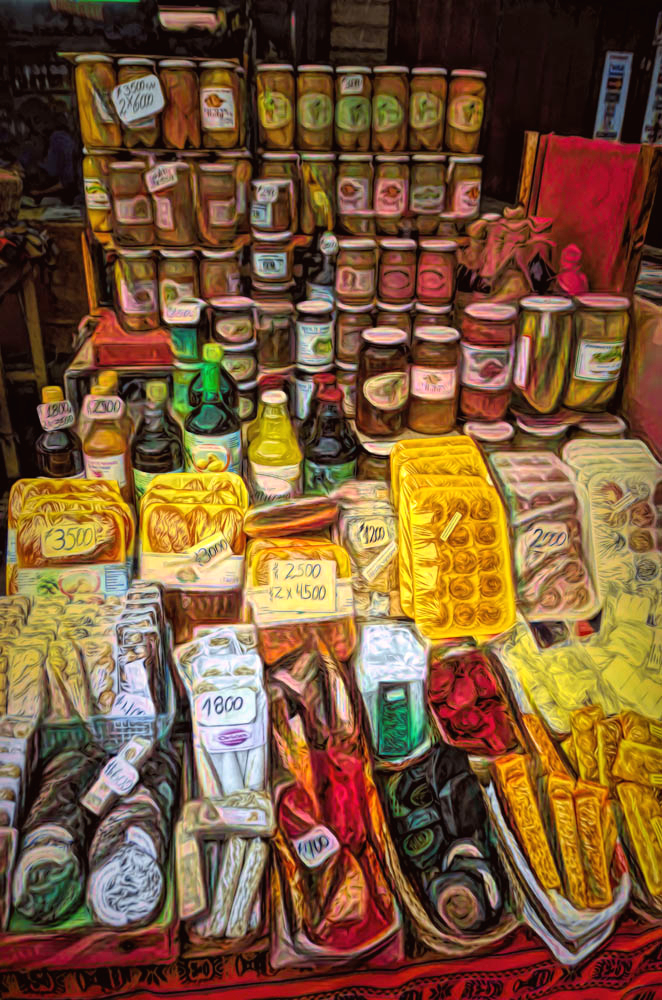 In a Chilean Market