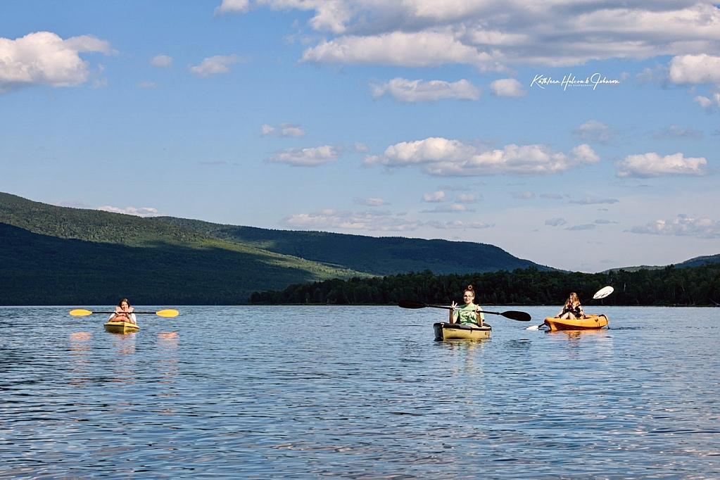 Youth Enjoying The Lake!