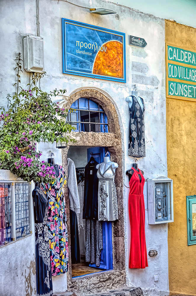 Santorini Dress Shop