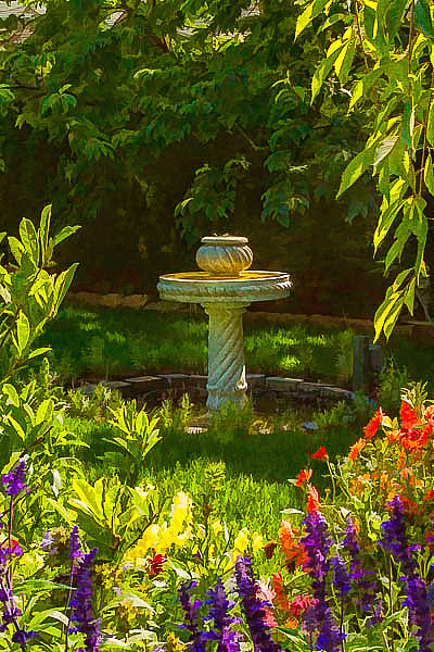 Sunnylea Water Fountain