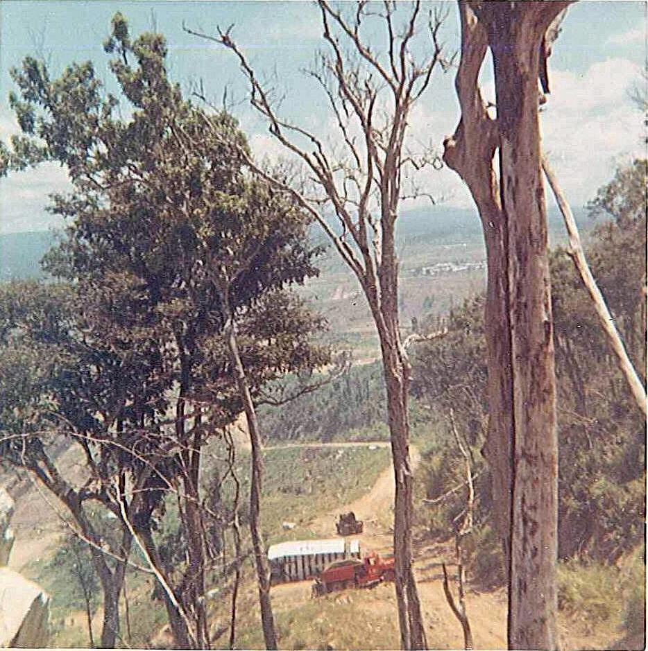 ½ way down Nui Hon Con An Khe Vietnam 1970. F