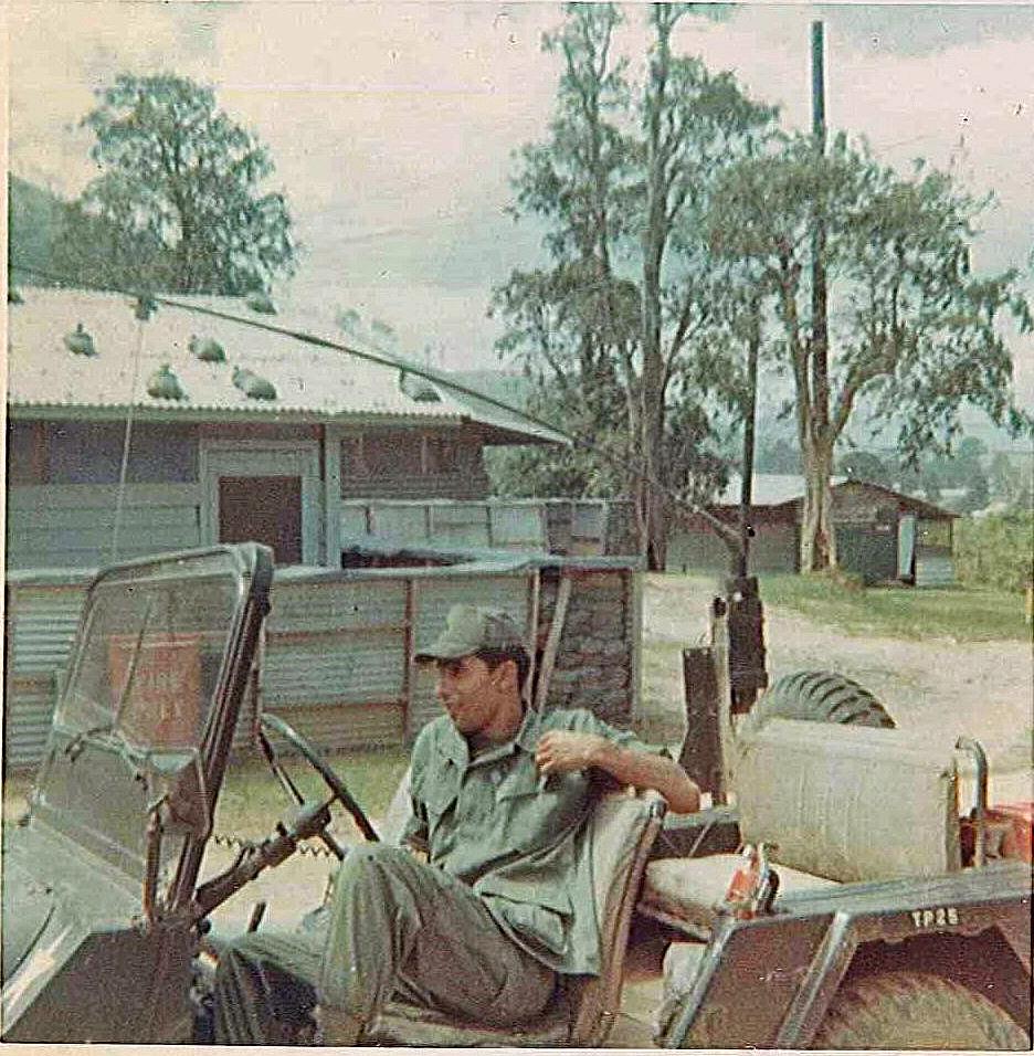 4th S&T Battalion XO Driver March 1970 Vietna