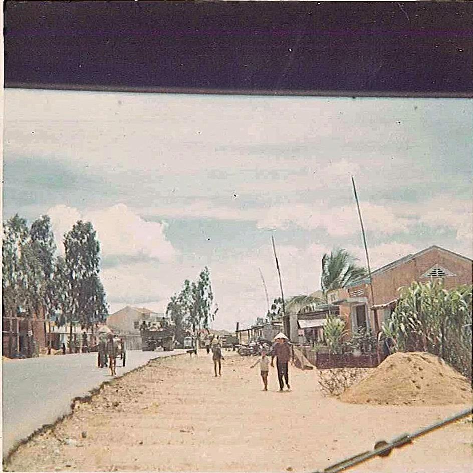 An Khe Market 1970 Viertnam