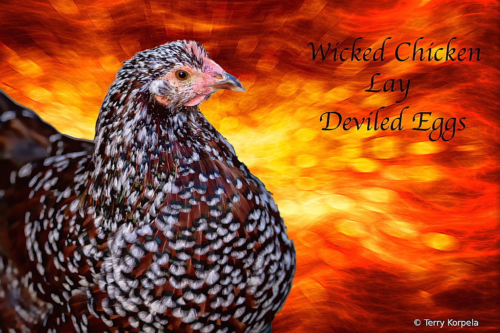 Wicked Chicken Lay Deviled Eggs