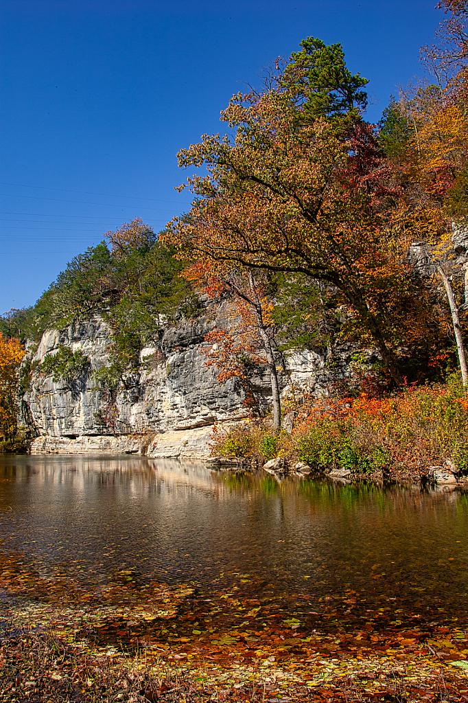 Buffalo River in Autumn in Arkansas