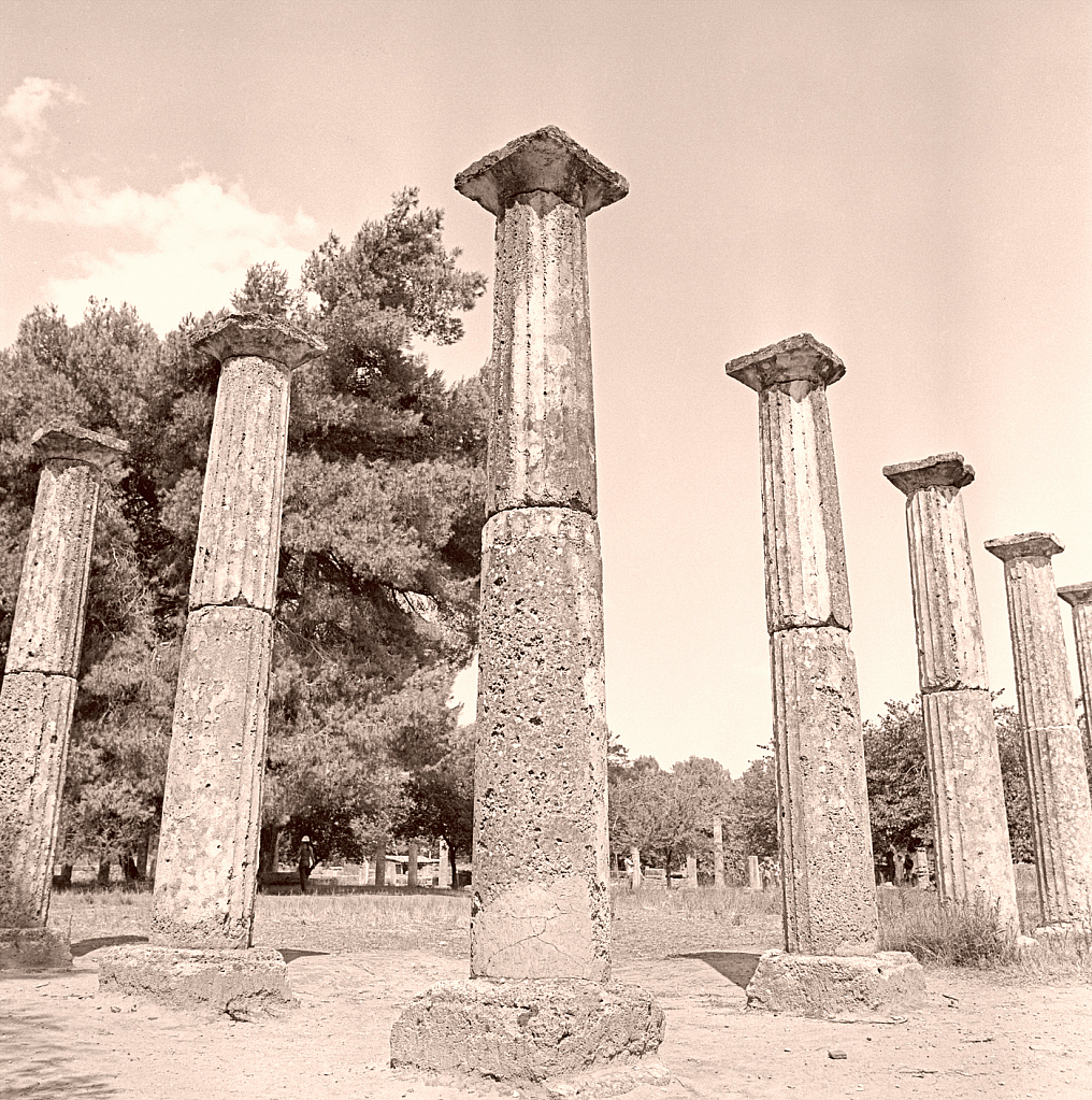Olympian Columns.