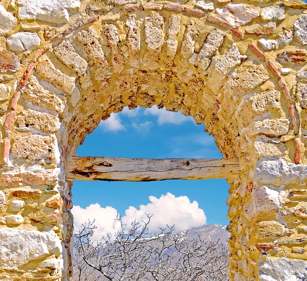Ancient Window Arch.