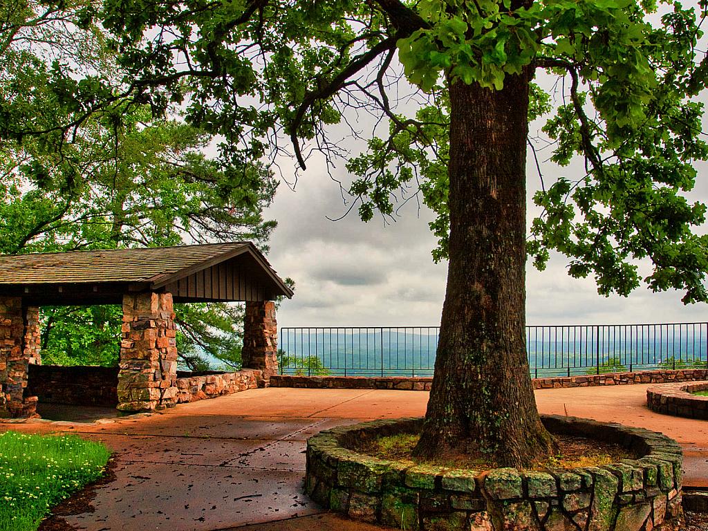 Hot Springs National Park Overlook