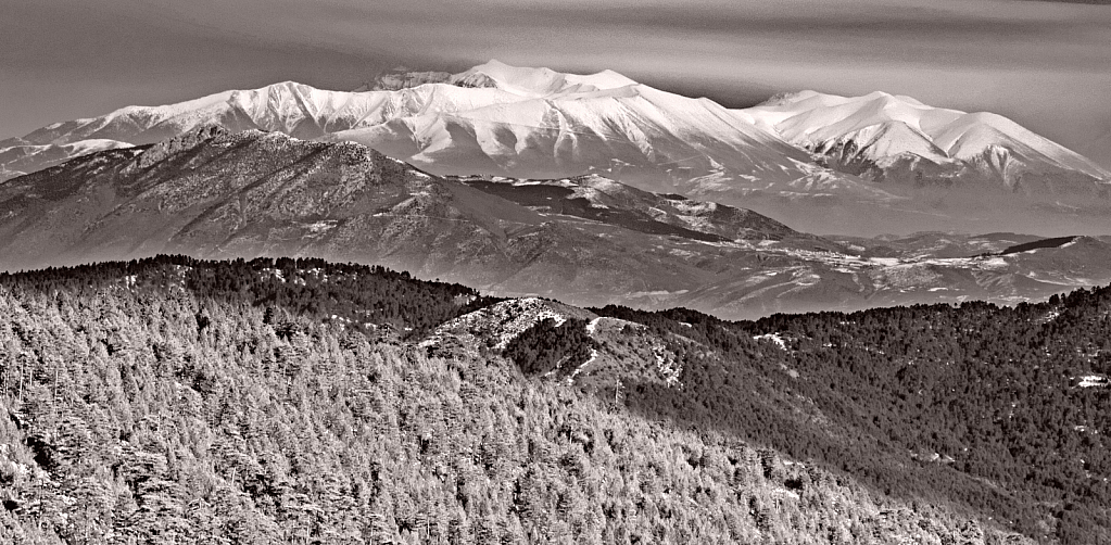 Olympus mountain, Greece.