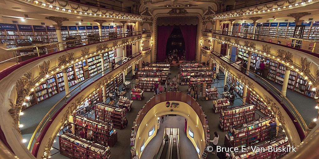 Bookstore In Buenos Aris