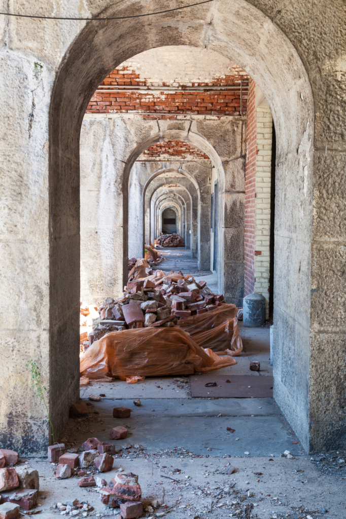 Fort Wadsworth Ruins