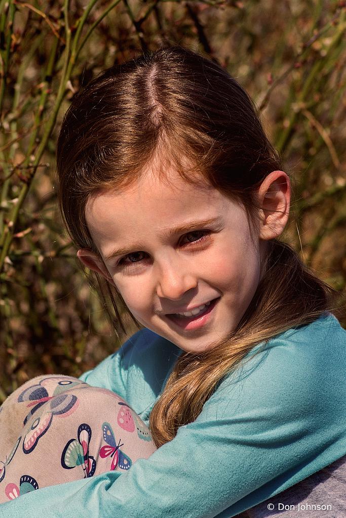 Granddaughter at Five 3-20-21 072