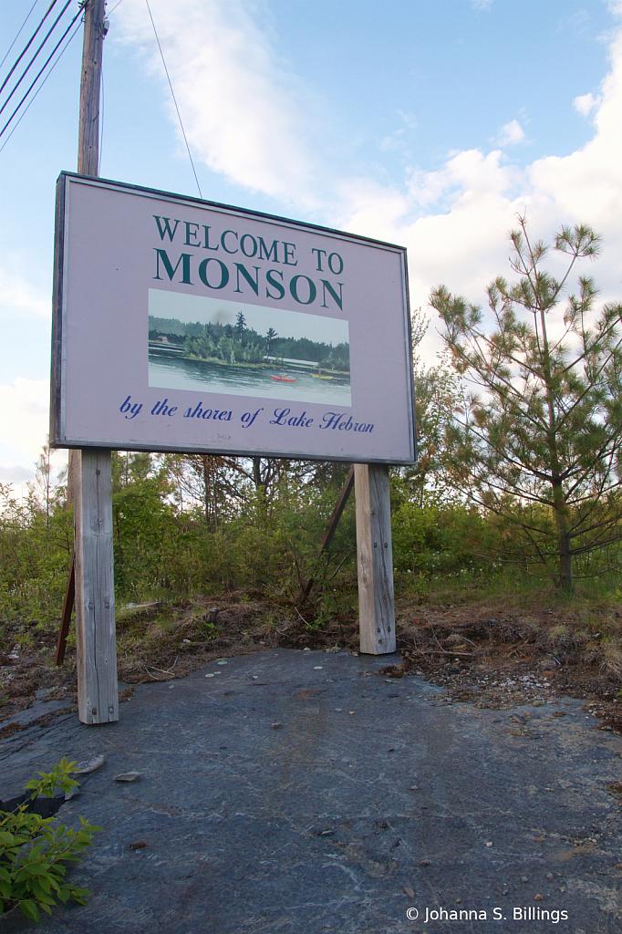 Monson Town sign5