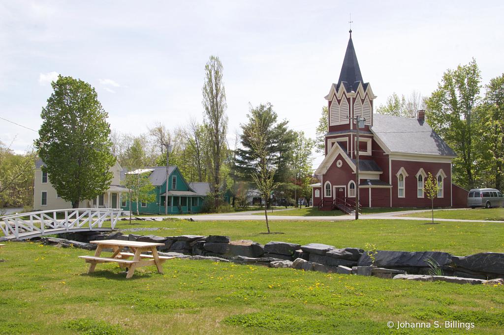 Monson Church and Bridge 4a