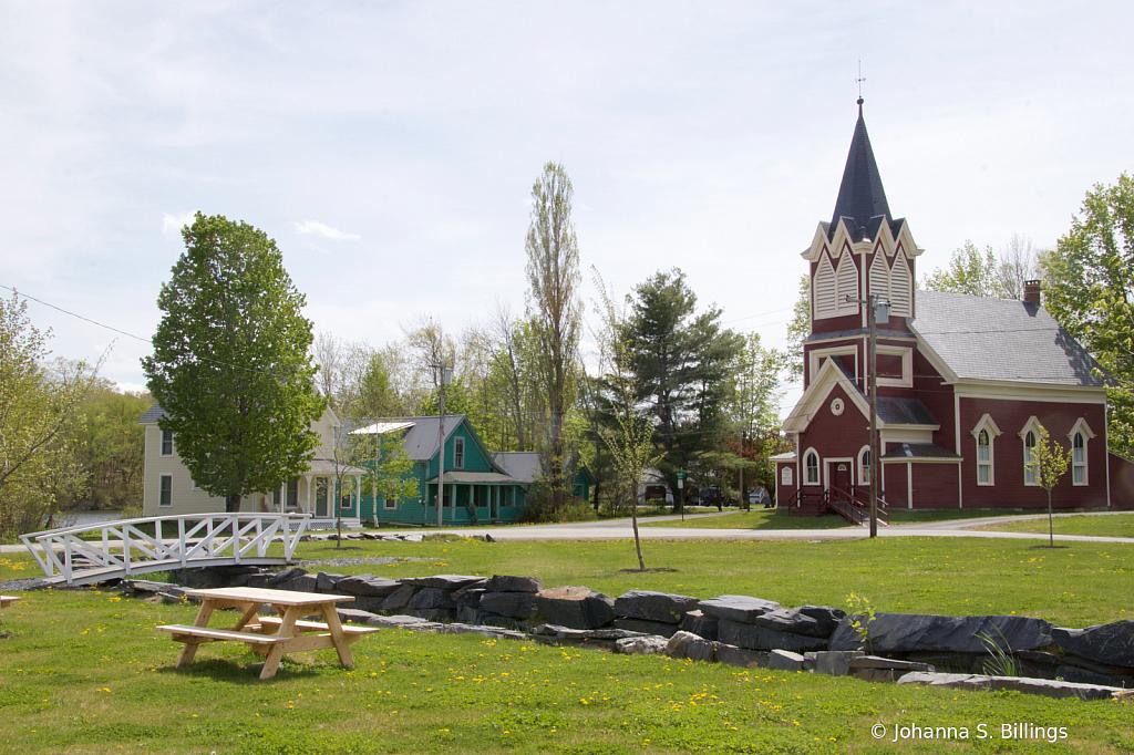 Monson Church and Bridge 5a