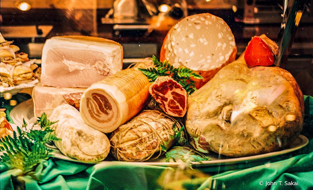 Salame, Mortadella, Ham, Coppa and Salsicce