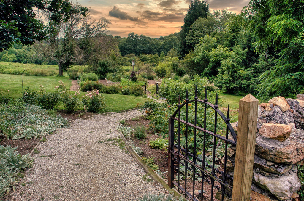 Enter the Gardens