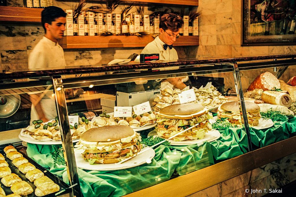 Preparing Milanese Sandwiches