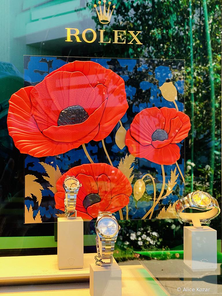 Rolex Poppy Reflections