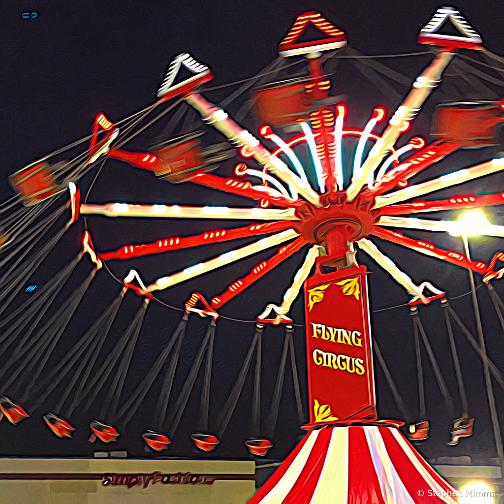 Flying Circus  (night fair series)