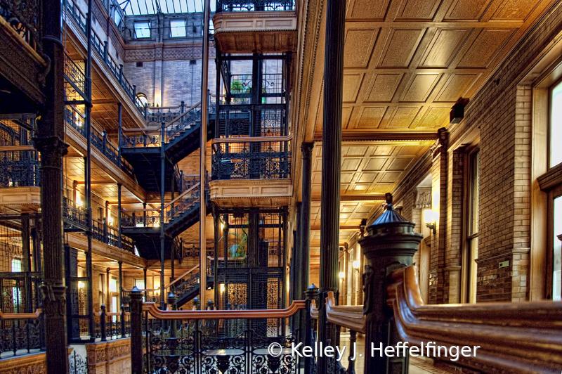 Bradbury Building - Central Atrium