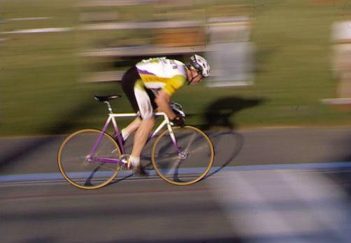 Cyclist - Panning