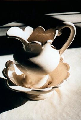 Antique Vase in sunlight