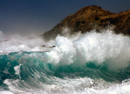Photography Contest Grand Prize Winner - June 2003: An Ocean's Fury