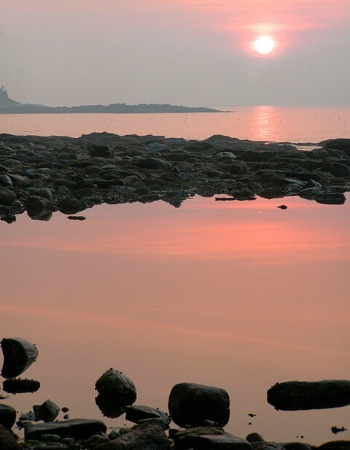 Hot Summer Sunrise