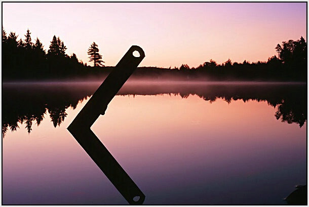 Mauve Morning Calm