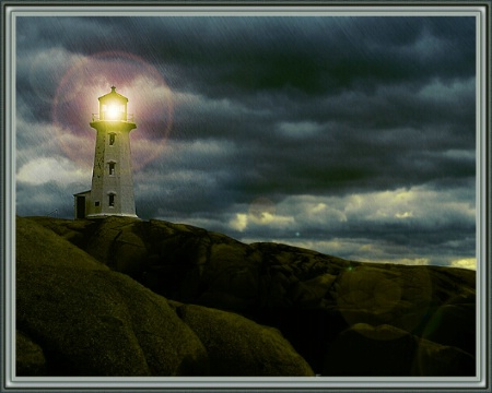 Peggy Cove  in a dream