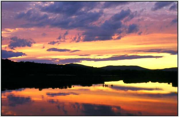 Sunset Marsh II