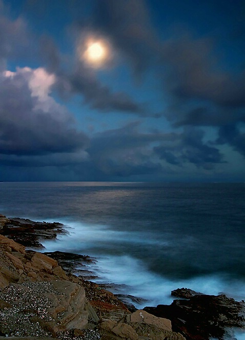 Molokai Channel Moon